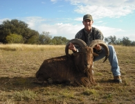 Billy Greason 33+ Aoudad November 2014
