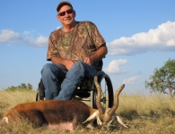 David Bradshaw PVA Hunt MGT Blackbuck