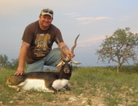Dustin Jones Hunt for Heros Trophy Black Buck September 2014