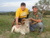 Zack Parker Texas Dall Hunt for Heros September 2014