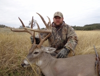 Donnie Babb Trophy White Tailed Deer December 2013